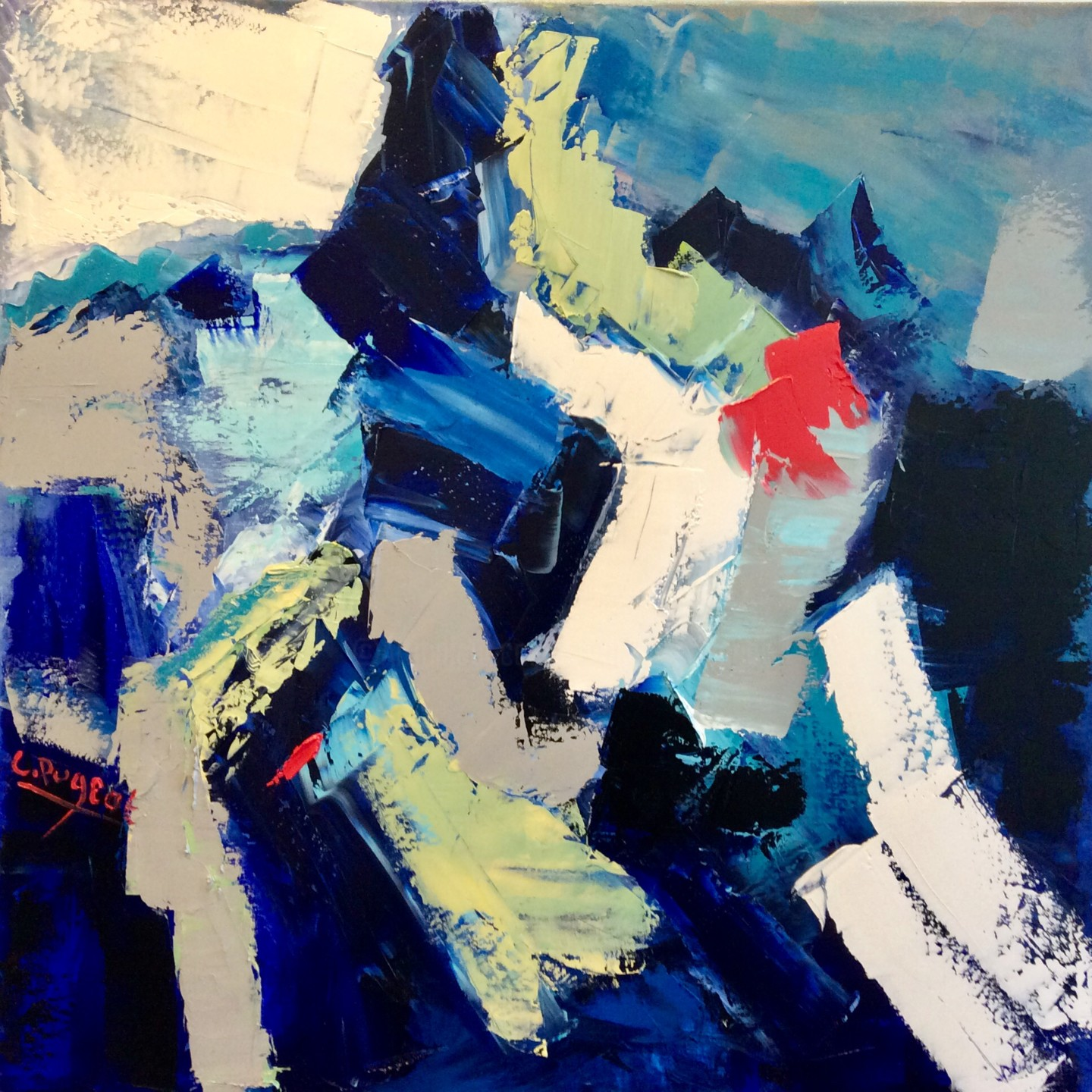 Catherine Pugeat - Mouvement n°3