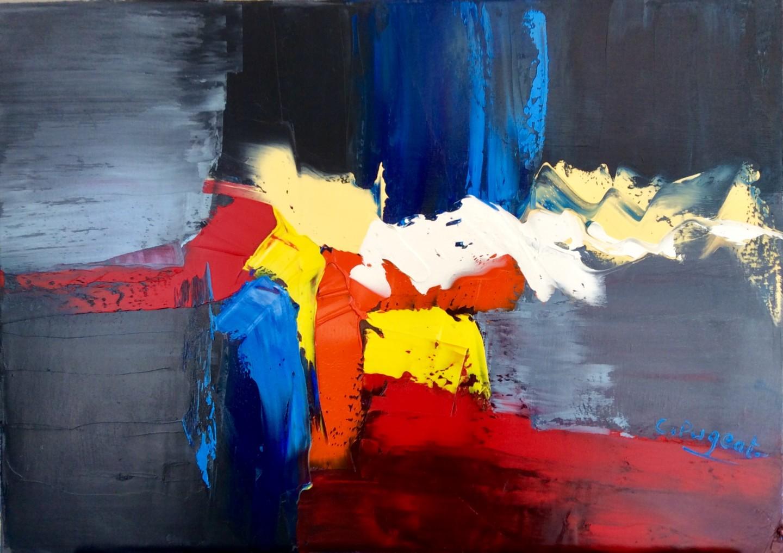 """Catherine Pugeat - Collection """"Entre ciel et terre n°2"""""""