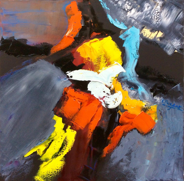 """Catherine Pugeat - Collection """"Entre ciel et terre n°6"""" ou minéral"""
