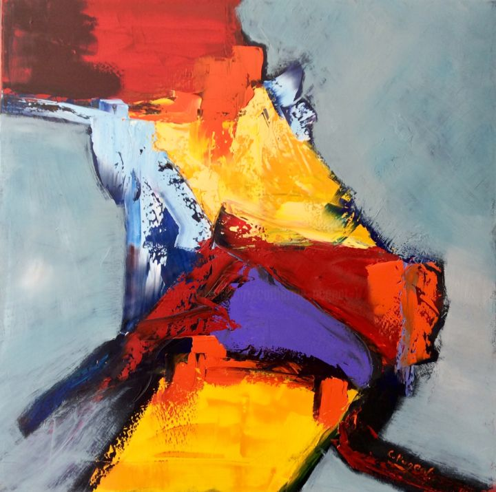 """Catherine Pugeat - Collection """"Mouvement n°10"""""""