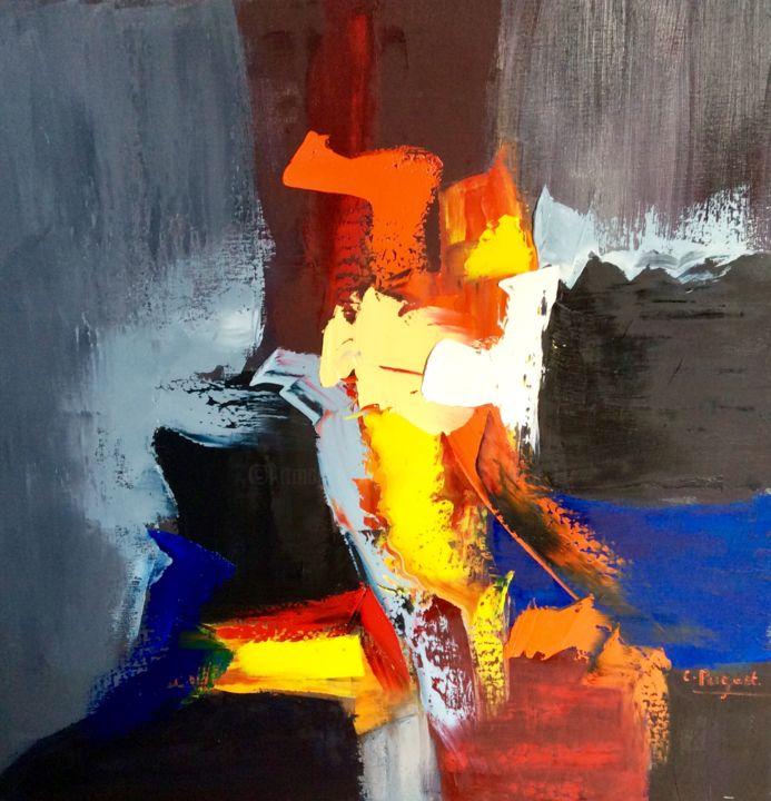 """Catherine Pugeat - Collection """"Entre ciel et terre n°3"""""""