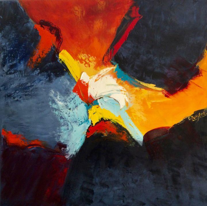 """Catherine Pugeat - collection """"Entre ciel et terre n°7"""" ou """"lumière"""""""
